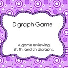 Ch, Sh, Th, H Digraph Game