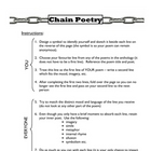 Chain Poetry