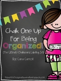 Chalk One Up For Being Organized! {The Ultimate Chalkboard