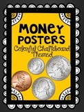 Chalkboard Money Posters