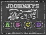 Chalkboard Word Wall Kit: Journeys Edition
