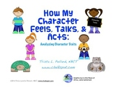Character Traits: Chalkspot Reading Journal