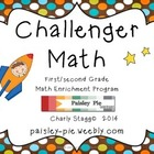 Challenger Math for First and Second Grade