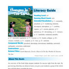 Changes In The Earth Literacy Guide