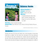 Changes In The Earth Science Guide