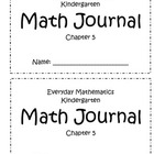 Chapter 5 Everyday Math Kindergarten Journal