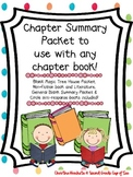 Chapter Book Reading Responses
