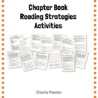 Chapter Book Reading Strategies Activities
