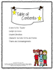 Character Acrostics Poetry Book Report Activity for Sharin