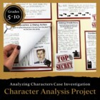 Character Analysis Case File Featuring Foreshadowing, Cont