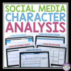 Character Analysis With A Modern Twist: Printable Activiti