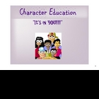 Character Attributes for the SMARTboard:  It's In You!