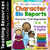 Character Biography Reports