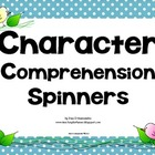 Character Comprehension Center Common Core Aligned RL.6.3,