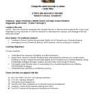 Character Ed - Unit 4 - Ethics and Integrity - Dignity for