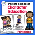 Character Education Anchor Charts and Booklet