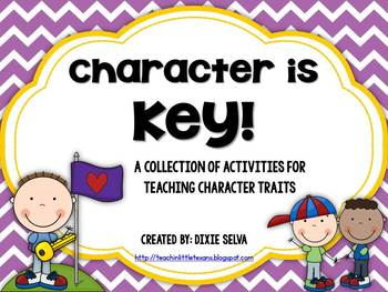 "Character Education- ""Character is Key"" Mega Pack"