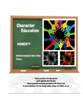 Character Education:  Honesty with That's Mine Horace book