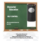 Character Education:  Self Control with Winston the Book Wolf