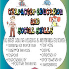 Character Education &amp; Social Skills Bundle - 10 best selli