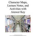 Character Maps, Direct and Indirect Characterization notes