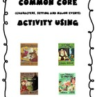 Character &amp; Setting Common Core Activity For Fairy Tales