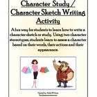 Character Sketch - Fun Practice with Creative Writing