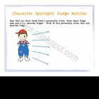 Character: Tales of a Fourth Grade Nothing Power Point (PDF)