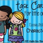 Character Task Card: Checking for Understanding