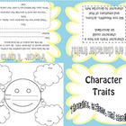 Character Trait Foldable