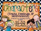 Character Traits - Feelings, Motivation, and Personality