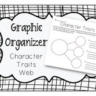 Character Traits Web Graphic Organizer
