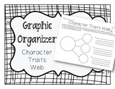 Character Traits Web Graphic Organizer - Critical Thinking Skills