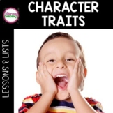Identifying Character Traits Lessons