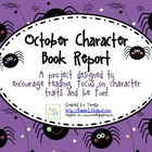 Character Traits October Book Report