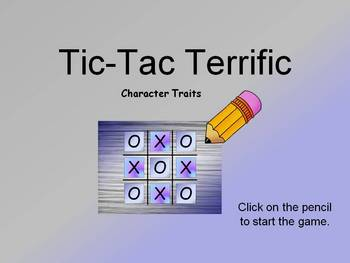 Character Traits PowerPoint Game/Activity