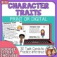 Character Traits Task Cards: 32 Multiple Choice Story Cards