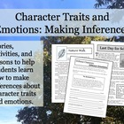 Character Traits and Emotions: Making Inferences