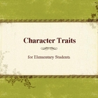 Character Traits with Practice