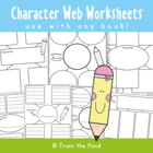 Character Webs - Little Red Riding Hood - Writing Activities