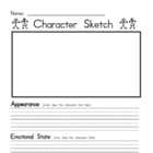 Character sketch and analysis for primary students