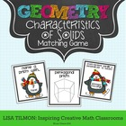 Characteristics of Geometric Solids Matching Game