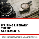 Characteristics of a Theme Statement - Handout