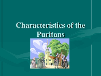 Characteristics of the Puritans