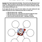 Characterization Twas the Night Before Christmas Poem Activity