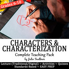 Characters &amp; Characterization Development {CC Approach Tea