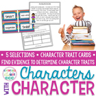 Characters With Character (Common Core Aligned)