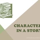 Characters in a Story Reading Strategy PowerPoint