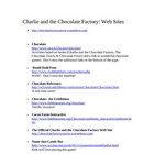 Charlie and the Chocolate Factory Lit Guide and PowerPoint