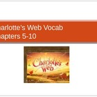 Charlotte's Web Ch. 6-10 Vocabulary